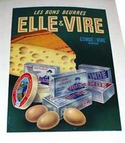 pub ancienne beurre ,huile